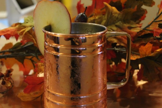 Caramel Apple Mule