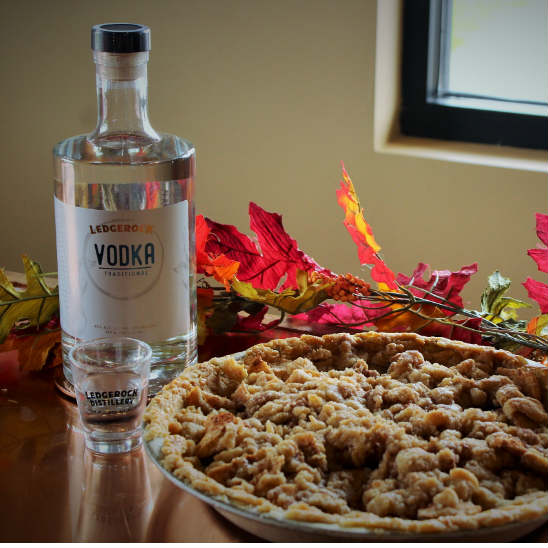 Hoyt's Homemade Vodka Pie Crust